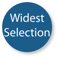Widest Selection